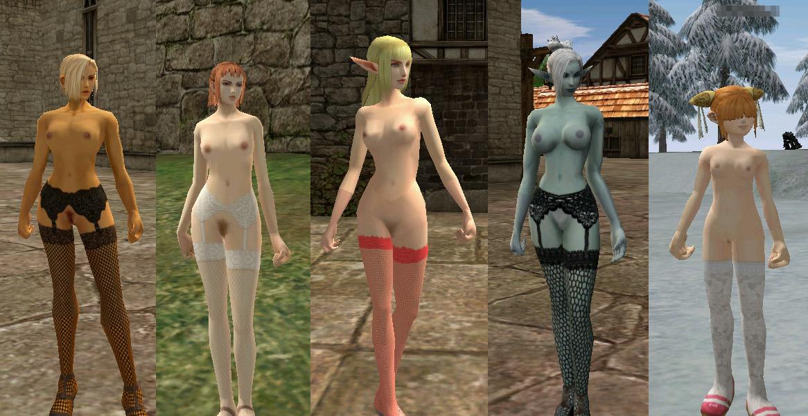Персонажи женского пола потеряли одежду. благодаря латине, теперь можно спо