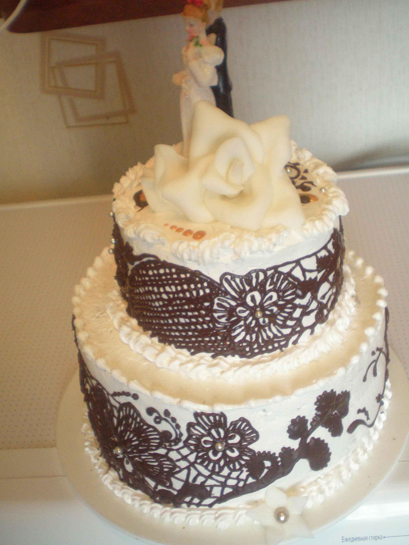 Торт на кожаную свадьбу фото.