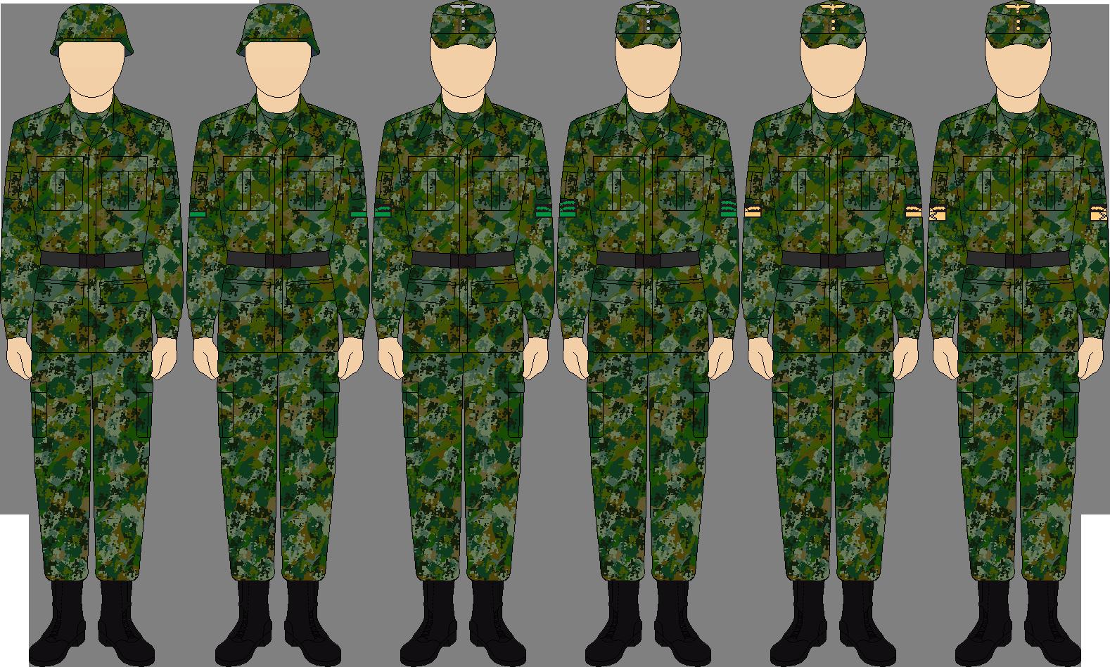 холста построена картинка форма российского войска меня