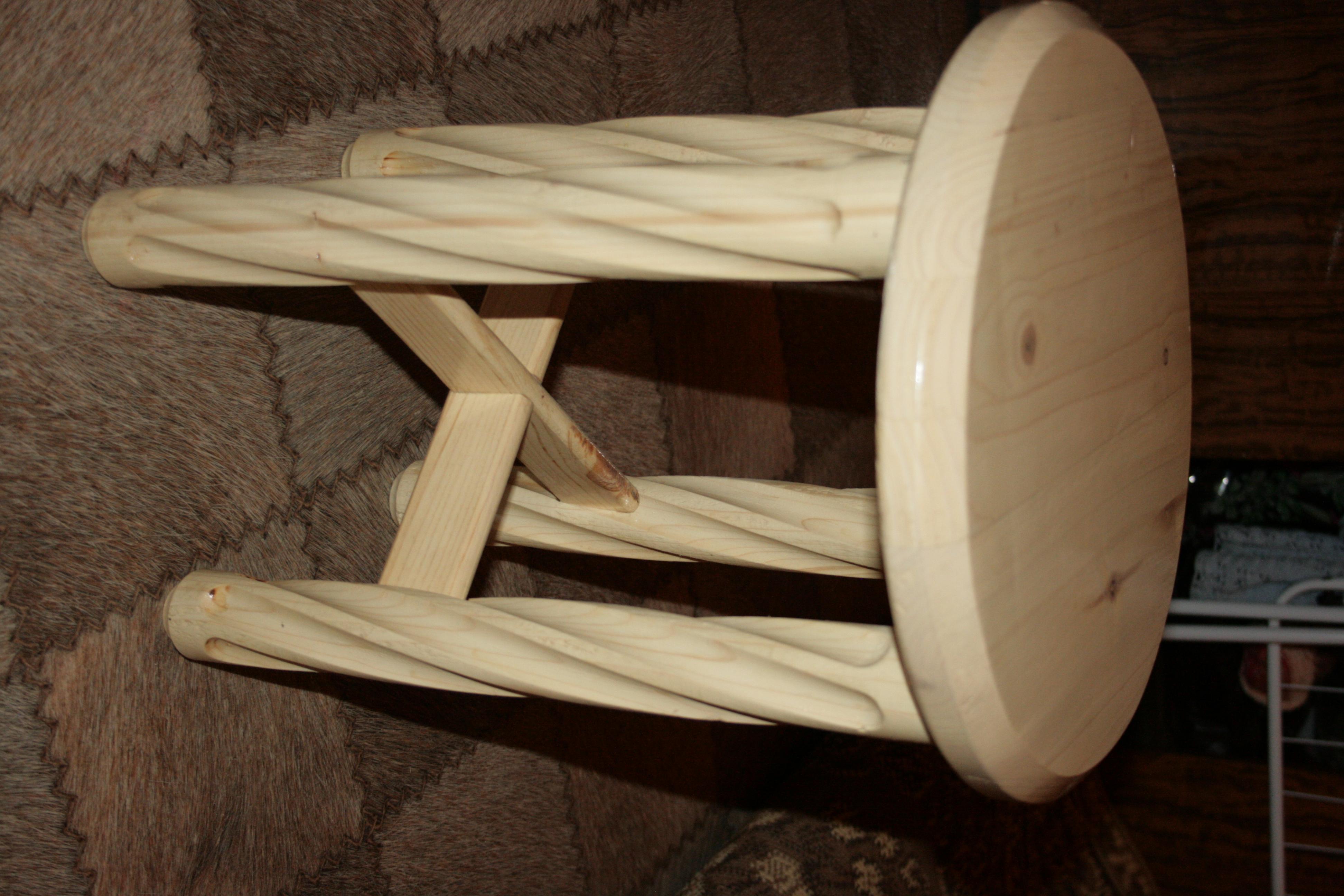 Красивые ножки для стула своими руками 46